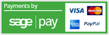 Secure Payments by via Sage Pay
