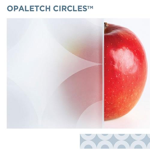 OpalEtch Circle - Acid Etched Glass