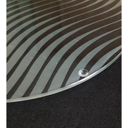 Opal Etch Party Platters - Wave