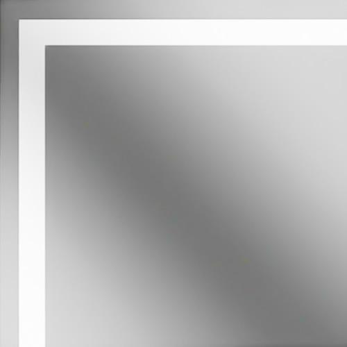 Sandblasted Silver Mirror Glass