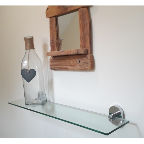 Clear Glass Shelf