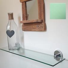 Green Tint Glass Shelf
