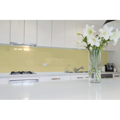 6mm Low Iron Beige Colour Splashbacks