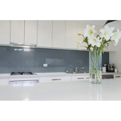 6mm Toughened Painted Glass - Zen Grey RAL 7016