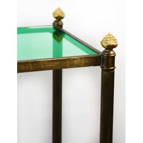 Green Tint Glass Table Top