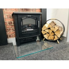 Glass Fire Hearth - Toughened Low Iron