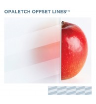 Opal Etch Offset Lines