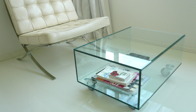 3 Glass table